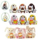 """NEW 9.5"""" FLUFFY RABBIT FLUFFY BUNNY EASTER SOFT TOY WITH SCENTED CHOCOLATE EGG"""