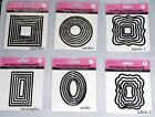 crafts too metal die cutting/embossing  set circle,square,rectangle or ovals