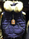PARAJUMPERS BEAR WOMEN'S SPRING DOWN VEST, 100% GENUINE, BLUE, BLACK, RED, S M L