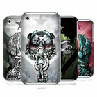HEAD CASE DESIGNS METAL CHEVRON HARD BACK CASE FOR APPLE iPHONE 3GS