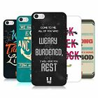 HEAD CASE DESIGNS CHRISTIAN TYPOGRAPHY SERIES 2 CASE FOR APPLE iPHONE 5S