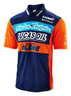 NEW TROY LEE DESIGNS TLD KTM LUCAS OIL TEAM MEN'S PIT SHIRT NAVY ALL SIZES