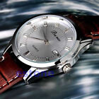 Simple Fashion Electronic Stainless Steel Synthetic Leather Men's Quartz Watch
