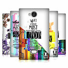HEAD CASE DESIGNS CITY LOVE HARD BACK CASE FOR NOKIA ASHA 503