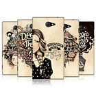 HEAD CASE DESIGNS INTROSPECTION HARD BACK CASE FOR SONY XPERIA M2