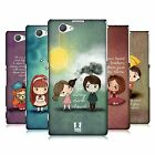HEAD CASE DESIGNS CUTE EMO LOVE HARD BACK CASE FOR SONY XPERIA Z1 COMPACT D5503