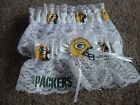 Green Bay Packers Football NFL Bridal Garter Set White lace Regular / Plus size
