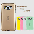 For Samsung Galaxy A3 A5 A7 Shockproof Gel Hard Colorful Case Cover