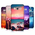 HEAD CASE DESIGNS WORDS SERIES 4 CASE FOR SAMSUNG GALAXY A3 3G A300H DUOS