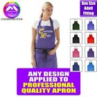 Chefs Bib Apron With Any Music Design Personalised by MusicaliTee