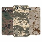 HEAD CASE MILITARY CAMO SERIES 2 GEL CASE FOR SONY XPERIA Z3 COMPACT D5803