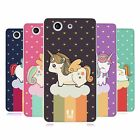 HEAD CASE UNICORN CHUBBY SILICONE GEL CASE FOR SONY XPERIA Z3 COMPACT D5803