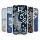 HEAD CASE JEANS AND LACES SILICONE GEL CASE FOR SAMSUNG GALAXY S5