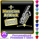 Sax Tenor Dont Wake Me - Personalised Music T Shirt 5yrs - 6XL by MusicaliTee