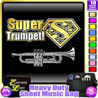 Trumpet Super - Sheet Music & Accessories Personalised Bag by MusicaliTee