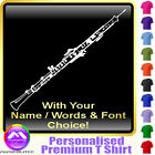 Oboe Picture With Your Words - Custom Music T Shirt 5yrs - 6XL by MusicaliTee