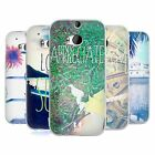 HEAD CASE POSITIVE VIBES SERIES 1 SILICONE GEL CASE FOR HTC ONE M8