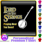 Banjo Lord Of The Strings - Personalised Music T Shirt 5yrs - 6XL by MusicaliTee