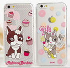 "New bulldog&Eiffel tower&doughnut Silicon Phone Case for iPhone 6 4.7""/5.5"""