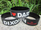 The Walking Dead I Love Daryl Dixon Wristband Bracelet 50pcs/lot Free Shipping