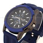 6 Colors Men Unisex Analog Silicone Stainless Steel Case Quartz Sports Watch New