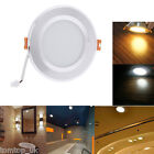 3W Round LED Recessed Ceiling Panel Down Lights Fixture Bulb Lamp With Driver