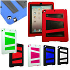 For Apple iPad Air 5 Cover V2 Kickstand Hybrid Double Layer Protector Case