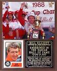 Bill Elliott 2015 NASCAR Hall of Fame Photo Card Plaque 2-Time Daytona Champ