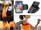 Slim Black Sports Gym Running Armband Cover Case For Samsung Galaxy S6 / S6 Edge