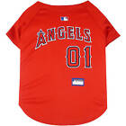 Dog Fan Gear MLB Los Angeles Angels Jersey Shirt T-Shirt Tank Pet Puppy Licensed