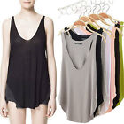 Summer Womens V-Neck Vest Loose Sleeveless Tank T-Shirt Tops