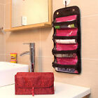 New Travel Cosmetic Organizer Roll Up Makeup Organizer Case Toiletry Bags