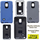 NEW OtterBox Defender Series Case for Samsung Galaxy Note 4 Black White Blue