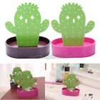 Cute Cactus Earrings Necklace Jewelry Display Desk Decor Stand Holder Organizer