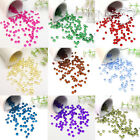 1000pcs 4.5mm 1/3ct Acrylic Diamond Confetti Wedding Party Table Scatter Decor