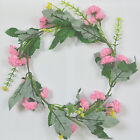 Womens Bridesmaid Boho Floral Flower Festival Forehead Headband Hair Garland