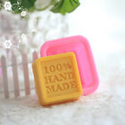 100% Hand Made Silicone Soap Mold Chocolate Ice Tray Candle Making Sugercraft