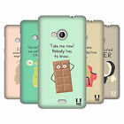 HEAD CASE DESIGNS DOSES OF NONSENSE HARD BACK CASE FOR NOKIA LUMIA 535