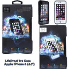OEM Authentic Lifeproof Fre Case for Apple iPhone 6 4.7 Waterproof Black White