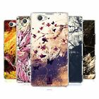 HEAD CASE FLORAL DRIPS SILICONE GEL CASE FOR SONY XPERIA Z1 COMPACT D5503