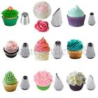 /GBP1.99/ 4 Nozzles Set Cake Decorating Icing Piping Nozzles Tips Frosting Tools