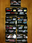 Nascar track wristbands licensed 1 wide silicone you get one band