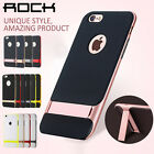 Slim Fit Shockproof Hybrid Stand Hard Bumper Soft Case For i