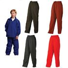 NEW KIDS BOYS GIRLS SCHOOL PANTS SPORTS CASUAL EXERCISE TRACKIES CHEAP UNIFORM