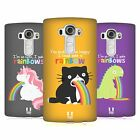 HEAD CASE DESIGNS RAINBOW PUKE HARD BACK CASE FOR LG G4