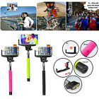2in1 Selfie Stick Monopod Built-in Bluetooth Wireless Remote Shutter for iPhone