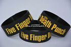 "FIVE FINGER DEATH PUNCH Silicone 1"" Wide Filled in Colour Wristband Bracelet"