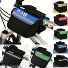 Bicycle Bike MTB Cycling Frame Pannier Saddle Front Tube Bag Double Holder Pouch