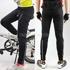 Women Men Windproof Thermal Outdoor Cycling Bike Pants Casual Thermal Trousers