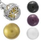 1PC Charm Round Harmony Ball Mexican Bola Bead Music Caller Ball 12mm 16mm 18mm